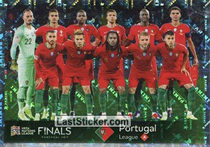 Team Photo (Portugal) (UEFA Nations League)