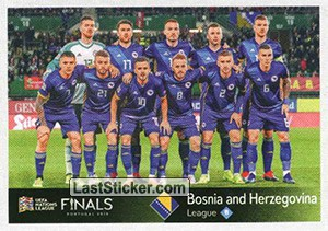 Team Photo (Bosnia & Herzegovina) (UEFA Nations League)