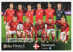 Team Photo (Denmark) (UEFA Nations League)