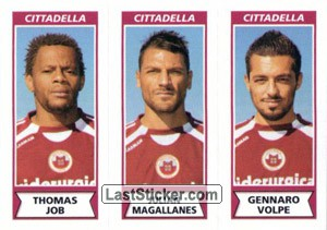 Thomas Job - Julian Magallanes - Gennaro Volpe (Cittadella)