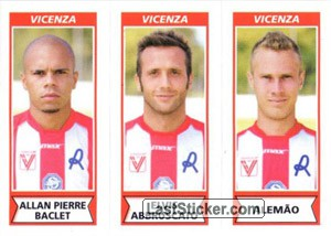 Allan Pierre Baclet - Elvis Abbruscato - Alemao (Vicenza)