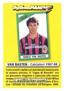 Attaccante (Top Team Panini 50)