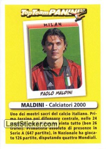 Difensore (altri) (Top Team Panini 50)