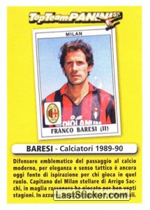 Difensore (Top Team Panini 50)
