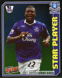 Yakubu Ayegbeni (Star Player) (Everton)