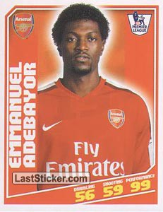 Emmanuel Adebayor (Arsenal)