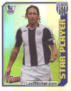 Jonathan Greening (Star Player) (West Bromwich Albion)