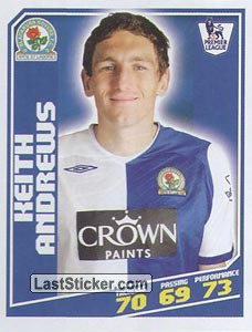Keith Andrews (Blackburn Rovers)
