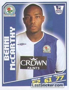 Benni McCarthy (Blackburn Rovers)