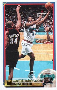 Othella Harrington (Vancouver Grizzlies)