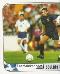 John Collins in action v Greece (Scotland)
