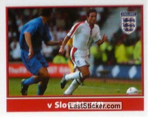 Lampard (v Slovakia Home) (The Road to Portugal)