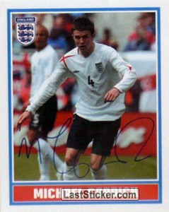 Michael Carrick (The Squad (facsimile autos))