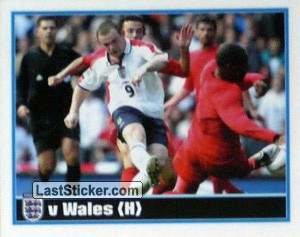 Rooney (v Wales Home) (The Roat to Germany 2006)