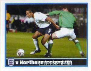 Ferdinand (v Northern Ireland Away) (The Roat to Germany 2006)