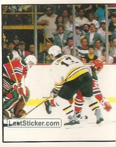 Wales Conference final - Boston 4-3 New Jersey (1 of 2) (1988 Stanley Cup Playoffs)