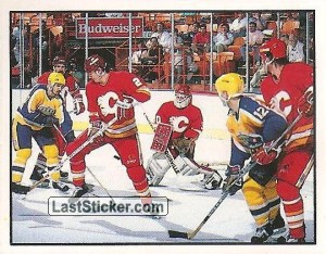 Campbell Conference quarterfinal - Calgary 4-1 Los Angeles (1988 Stanley Cup Playoffs)
