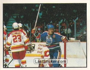 Campbell Conference semifinal - Calgary 0-4 Edmonton (1988 Stanley Cup Playoffs)