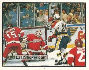 Campbell Conference semifinal - Detroit 4-1 St. Louis (1988 Stanley Cup Playoffs)