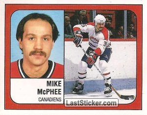 Mike McPhee (Montreal Canadiens)