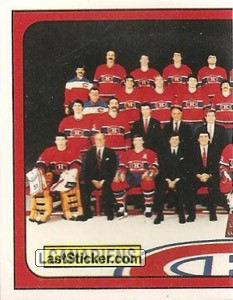 Montreal Canadiens team (1 of 2) (Montreal Canadiens)