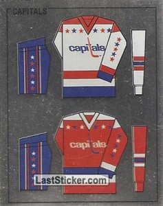 Washington Capitals uniform (Washington Capitals)