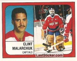 Clint Malarchuk (Washington Capitals)
