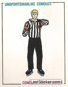 Unsportsmanlike conduct (Signals and Rules)