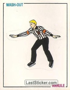 Wash-out (referee) (Signals and Rules)