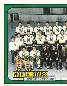 Minnesota North Stars team (1 of 2) (Minnesota North Stars)