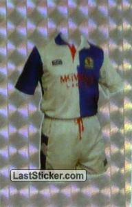 Blackburn Rovers (Home Kits)