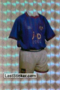 Oldham Athletic (Home Kits)