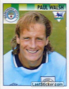 Paul Walsh (Manchester City)