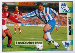 David Hirst (Star Player) (Sheffield Wednesday)