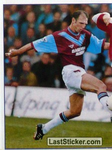 Alvin Martin (Action 1/2) (West Ham United)