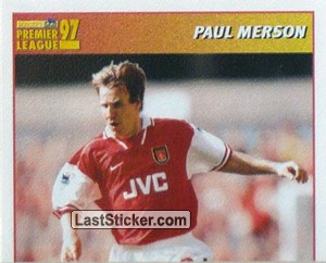 Paul Merson (International Player - 1/2) (Arsenal)