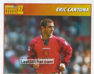 Eric Cantona (International Player - 1/2) (Manchester United)