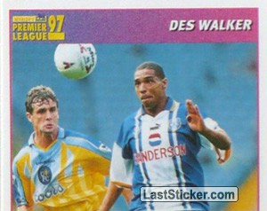Des Walker (International Player - 1/2) (Sheffield Wednesday)