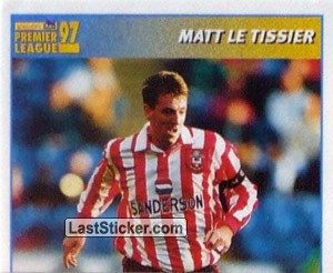 Matt Le Tissier (International Player - 1/2) (Southampton)