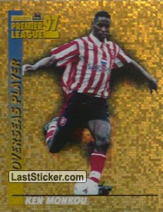 Ken Monkou (Overseas Player) (Southampton)