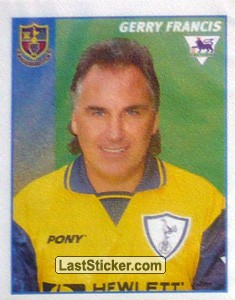 Gerry Francis (Manager) (Tottenham Hotspur)
