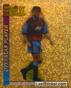 Savo Milosevic (Overseas Player) (Aston Villa)