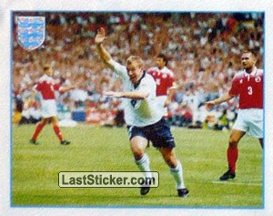 Alan Shearer (England Team Poster)