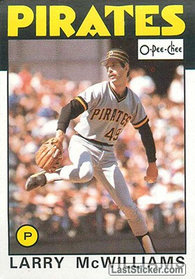 Larry McWilliams (Pittsburgh Pirates)