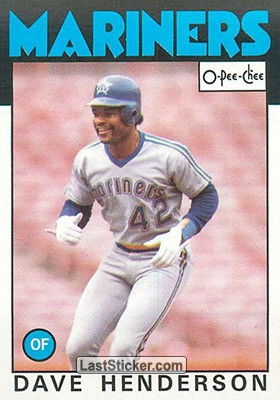 Dave Henderson (Seattle Mariners)