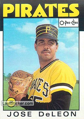 Jose DeLeon (Pittsburgh Pirates)