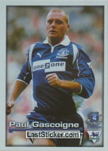 Superstar Paul Gascoigne (Everton)