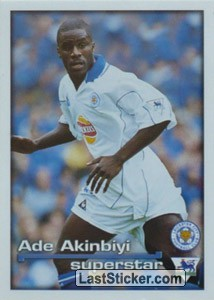 Superstar Ade Akinbiyi (Leicester City)