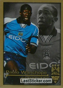 Superstar Paulo Wanchope (Manchester City)