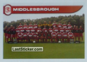 Team Photo (Middlesbrough)